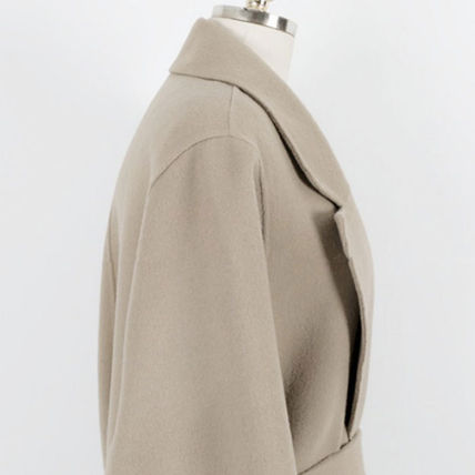 More Coats Casual Style Plain Long Coats 10