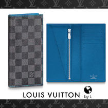 c17d3b2918df Louis Vuitton DAMIER GRAPHITE Other Check Patterns Canvas Long Wallets ( N64030) by byL - BUYMA