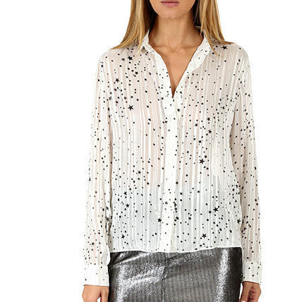 Star Casual Style Street Style Shirts & Blouses