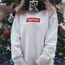 Supreme Unisex Street Style Plain Special Edition Hoodies