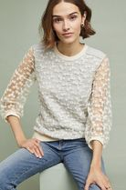 Anthropologie Blended Fabrics Party Style Shirts & Blouses