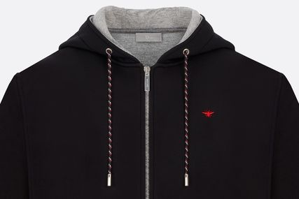 DIOR HOMME Hoodies Sweat Long Sleeves Plain Other Animal Patterns Hoodies 4  ... 9a6557f1347