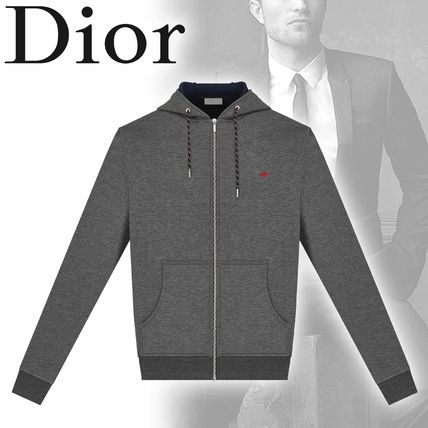 ... DIOR HOMME Hoodies Sweat Long Sleeves Plain Other Animal Patterns  Hoodies ... 1e74a217398