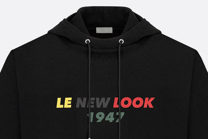 DIOR HOMME Hoodies Sweat Long Sleeves Plain Other Animal Patterns Hoodies 5  ... 922a9ae0da5