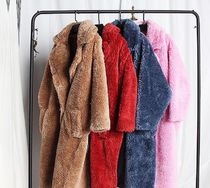 Fur Bi-color Plain Long Home Party Ideas Fur Vests