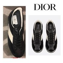 Christian Dior Casual Style Unisex Street Style Plain Leather