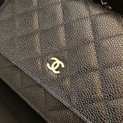 CHANEL Shoulder Bags 2WAY Plain Leather Shoulder Bags 2
