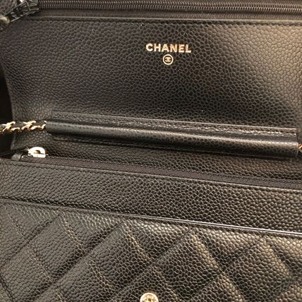 CHANEL Shoulder Bags 2WAY Plain Leather Shoulder Bags 5
