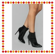 FASHION NOVA Street Style Pin Heels Ankle & Booties Boots