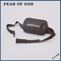 FEAR OF GOD ESSENTIALS Street Style Collaboration Messenger & Shoulder Bags