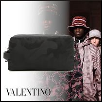 VALENTINO Camouflage Nylon Wallets & Small Goods