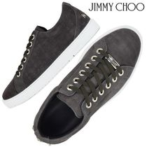Jimmy Choo Star Suede Studded Street Style Sneakers