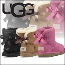 UGG Australia MINI BAILEY BOW Petit Kids Girl Boots