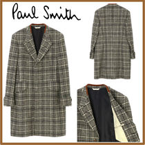 Paul Smith Glen Patterns Street Style Long Chester Coats