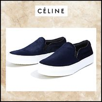 CELINE Spawn Skin Slip-On Shoes