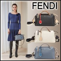FENDI BY THE WAY Calfskin 2WAY Plain Boston & Duffles