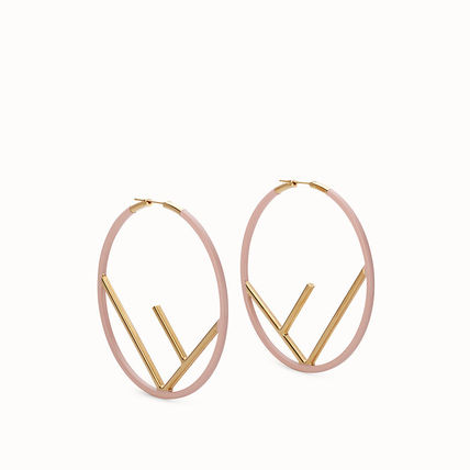 Casual Style Initial Earrings