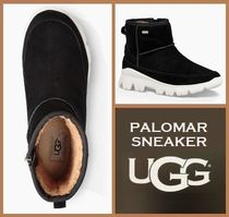 UGG Australia PALOMAR Round Toe Rubber Sole Casual Style Suede Street Style Plain