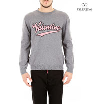 VALENTINO Pullovers Wool Long Sleeves Knits & Sweaters