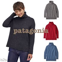 Patagonia Casual Style Street Style Long Sleeves Plain Medium