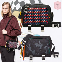 PRADA Other Check Patterns Camouflage Nylon Street Style