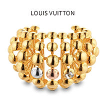 Louis Vuitton Unisex Studded Elegant Style Party Jewelry
