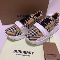 Burberry Other Plaid Patterns Street Style Sneakers