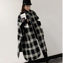 Gingham Other Plaid Patterns Long Fringes Oversized