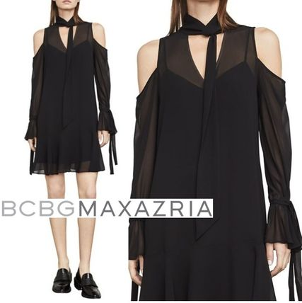 Bcbg Maxazria 2018 19aw Long Sleeves Dresses By Fabsboutique Buyma