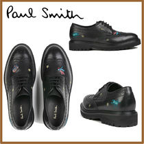Paul Smith Star Wing Tip Loafers Street Style Leather
