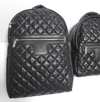 CHANEL COCO COCOON Casual Style Unisex Nylon Street Style Oversized Backpacks