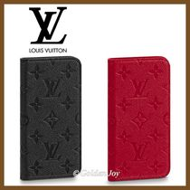 Louis Vuitton MONOGRAM EMPREINTE Monogram Unisex Leather Smart Phone Cases