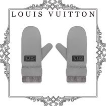 Louis Vuitton Wool Plain Gloves Gloves