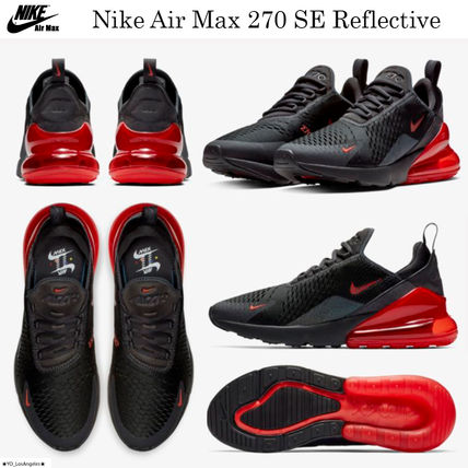 competitive price 04c9d 1ae66 Nike AIR MAX 270 2019 SS Street Style Sneakers