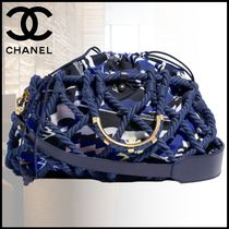 CHANEL Casual Style Blended Fabrics Bags