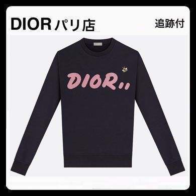 3dc7b36842f8 ... DIOR HOMME Sweatshirts Unisex Collaboration Long Sleeves Plain Cotton  Handmade ...