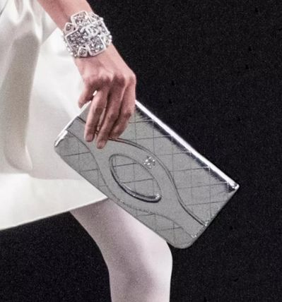 CHANEL Clutches Leather Clutches 4