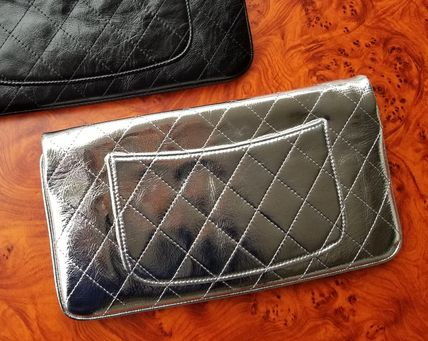 CHANEL Clutches Leather Clutches 8