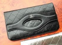 CHANEL ICON Leather Clutches