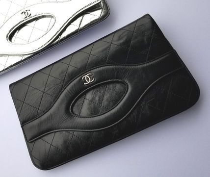 CHANEL Clutches Leather Clutches 5