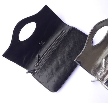 CHANEL Clutches Leather Clutches 9