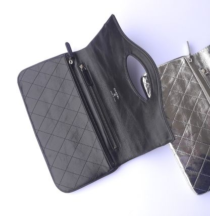 CHANEL Clutches Leather Clutches 10