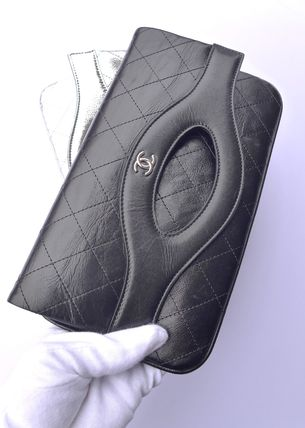 CHANEL Clutches Leather Clutches 11