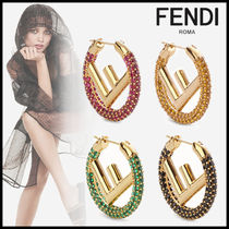 FENDI Initial Party Style Earrings & Piercings