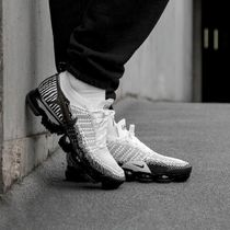 Nike Vapor Max Zebra Patterns Street Style Sneakers
