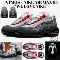 Nike AIR MAX 95 Unisex Blended Fabrics Street Style Collaboration