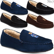 Ralph Lauren Moccasin Suede Blended Fabrics Plain Other Animal Patterns
