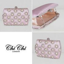 Chi Chi London Flower Patterns 2WAY Chain With Jewels Elegant Style