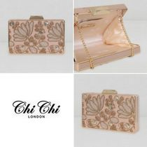 Chi Chi London Flower Patterns 2WAY Chain Elegant Style Party Bags
