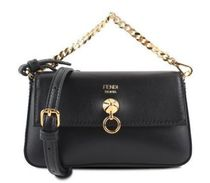 FENDI Plain Leather Shoulder Bags